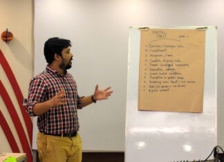 Training in Dhaka, Bangladesh. Image by David Brewer shared via Creative Commons