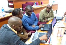 Journalism training in Africa. Image by David Brewer shared via Creative Commons