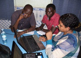 Media strategy training Kenya. Image by David Brewer shared via Creative Commons
