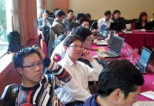 Journalism training in Hanoi, Vietnam. Image by David Brewer shared via Creative Commons
