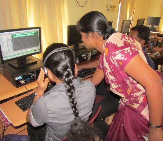 Radio production training in Jaffna, Sri Lanka by David Brewer shared via Creative Commons BY-NC-SA 4.0